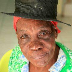 Résidente du Centre d'hébergement de l'Acise Samusocial Martinique